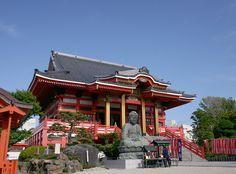 銚子観音(圓福寺)の本堂と大仏様