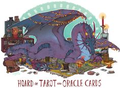 Hoard of tarot and oracle cards. *eats your cats food and makes them watch* Hoard of tarot and oracle cards. *eats your cats food and makes them watch* Fantasy Kunst, Fantasy Art, Tarot, Pokemon, Cute Dragons, Dragon Art, Magical Creatures, Creature Design, Dungeons And Dragons
