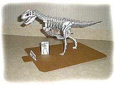 Tyrannosaurus Rex-skelett