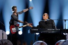 Stevie Wonder and Hunter Hayes