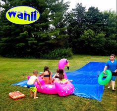 Water Slide In Backyard 23 best world's biggest backyard water slide - wahii ® images on