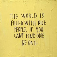 be a nice one.