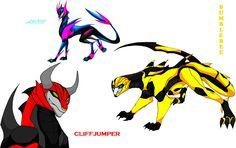 Transformers prime dragons