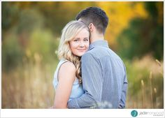 Those eyes! She is going to make a gorgeous bride! Engagement photo by Jade Norwood Photography