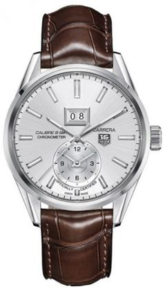 Tag Heuer Carrera Calibre 8 Automatic Silver Dial Brown Leather Mens Watch WAR5011.FC6291 TAG Heuer,http://www.amazon.com/dp/B00DG9SE8W/ref=cm_sw_r_pi_dp_xEGktb1SBEAP3HVK