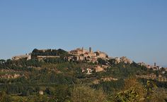 Montepulciano - An elegant medieval hilltop town with great food and locally produced high quality wine
