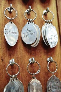 spoon key-ring