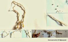 #DIY #fashion #craft #tutorial #necklace