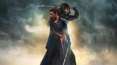 A new Pride and Prejudice and Zombies poster has debuted online, featuring just a few more katanas and undead than the original book.