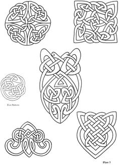 Dover Copyright Free Collection Of Iron On Celtic Designs I Have This Booklet From Years Ago But Nice To An Online Resource For The Patterns