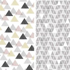 Download and print these FREE Capsule Geometric Mono triangle papers.