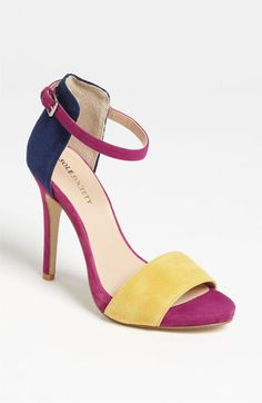 Sole Society 'Sheila' Sandal - colorblock is still a must for next Spring