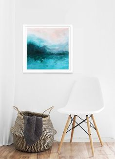 See some of the mid century lamps that will enlighten this year's Euroluce ed Abstract Landscape Painting, Landscape Art, Landscape Paintings, Landscapes, Interior Design Work, Beautiful Interior Design, Square Art, Extra Large Wall Art, New Print