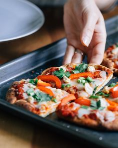 Thai Curry Naan Pizza | a Couple Cooks