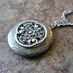 Victorian Celtic Love Locket Exclusively by by EnchantedLockets, $25.00