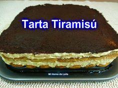 Mi horno de leña: Receta de Tarta Tiramisú