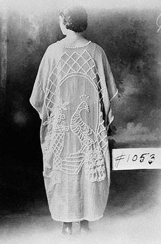 peacock robe