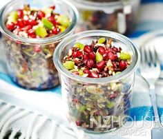 Mixed Rice Salad Rice Salad, Fruit Salad, Wine Recipes, Bread Recipes, Garden News, Starters, Oatmeal, Salads, Yummy Food