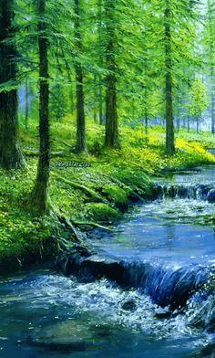 gif landscape paysage paisagem