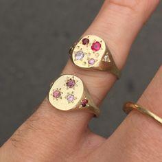 Funky Jewelry, Hippie Jewelry, Cute Jewelry, Jewelry Box, Jewelry Accessories, Jewelry Design, Moon Jewelry, Bijou Brigitte, Magical Jewelry