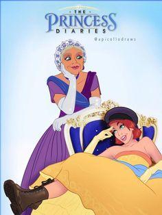 20 affiches de films détournées avec des personnages Disney