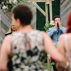 This reaction. Can't wait to see this again! Waiting, Wedding Photography, Seasons, Wedding Dresses, Dates, Instagram, Fashion, Bride Dresses, Moda