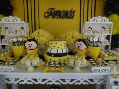 Festa abelhinha -caixa margarida