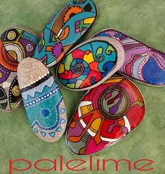 Beautiful colored stones :)