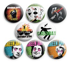 More green day pins .