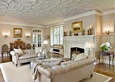 salón tradicional por Kim E Interiores Courtney & Design Inc