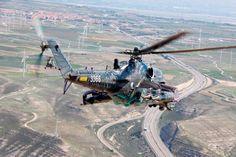 Czech Mi 24 hind at Nato Tiger Meet 2016