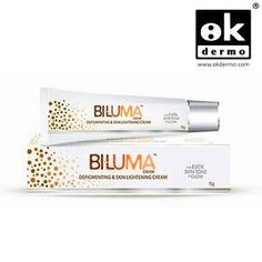BILUMA 15g Cream made by GALDERMA as Depigmenting & Skin Lightening crem Biluma cream is a hydroquinone-free skin whitening cream that has both synthetic and natural potent skin whitening ingredients. Since, the concentration of ingredients in this cream is therapeutic in range, this product should be used only after consulting a dermatologist.