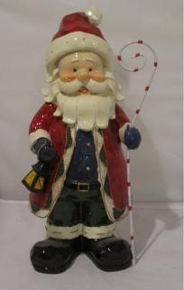 Santa Decoration Santa Decorations, Christmas Ornaments, Holiday Decor, Home Decor, Christmas Ornament, Interior Design, Home Interior Design, Christmas Topiary, Home Decoration