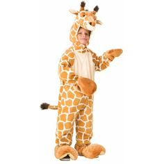 Forum Kids Giraffe Cute Plush Zoo Animal Halloween Costume -- You can find out more details at the link of the image.
