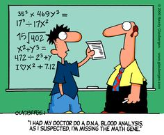 Math cartoons are the best~