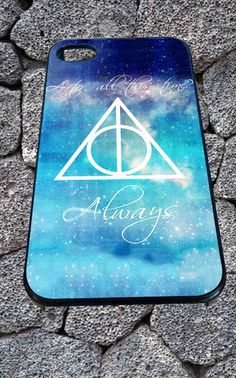 Harry Potter Deathly Hallows for iPhone 4/4s/5/5S/5C/6, Samsung S3/S4/S5 Unique Case *99* - PHONECASELOVE