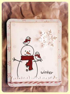 Lawn Fawn - Making Frosty Friends    Winter Wonderland by cute♥button, via Flickr