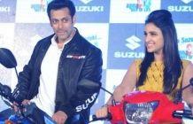 Salman Khan & Parineeti Chopra Launches Suzuki Two Wheelers | Morning Cable Gallery