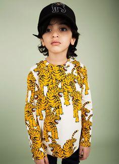 Mini Rodini AW15-16 Bengal Tiger T-shirt Zirimola Blog
