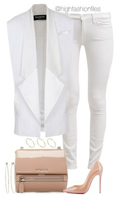 """""""Wht x Nde"""" by highfashionfiles ❤ liked on Polyvore"""