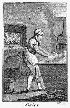 Colonial Baker, C1800 Poster By Granger