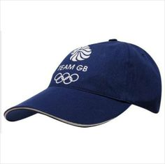 5 x BASEBALL HAT - ADIDAS - OFFICAL TEAM GB OLYMPICS - NAVY BLUE - BNWT - JOBLOT