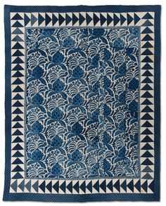 International Quilt Study Center & Museum : Exhibitions : Online Exhibitions : Indigo Gives America the Blues : Indigo Gives America the Blues, Quilts