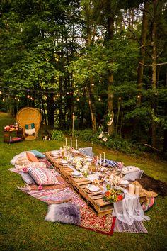 Boho Midsummer Nights Soiree on Kara's Party Ideas | KarasPartyIdeas.com (8)