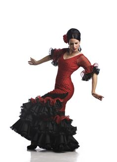 My first flamenco teacher, Karen Pitkethly of Karen Flamenco. She will move you.