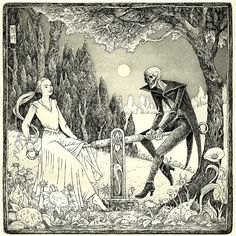Die Wippe [The seesaw] etching,2007 by Michael Hutter