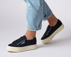 03bac369c3f5 Our Classic Superga 2750 gets remastered! The 2790 flatform is a cross  between our classic