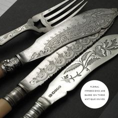 Antique Knives, gorgeous !!