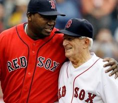 Boston Red Sox fan favorite Johnny Pesky (seen here with David Ortiz in 2008) passed away some time ago now, but we'll always remember his legacy.