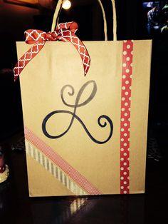 Handmade giftbag